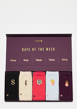 Stance Foundation Days Of The Week Pack multi