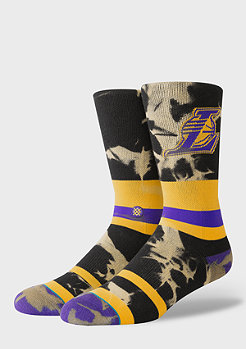Stance NBA Los Angeles Lakers Acid Wash yellow