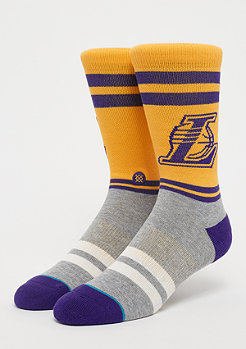 Stance NBA Los Angeles Lakers City Gym yellow