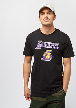 New Era NBA Team Logo Tee Los Angeles Lakers black