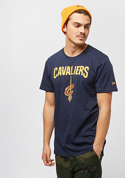 New Era NBA Team Logo Tee Cleveland Cavaliers bluegrey