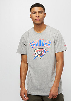 New Era NBA Team Logo Tee Oklahoma City Thunder grey