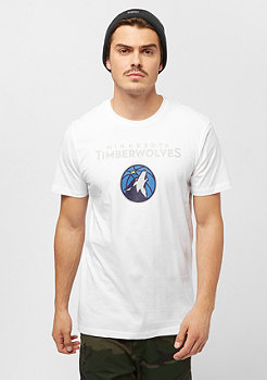 New Era NBA Team Logo Tee Minnesota Timberwolves white