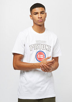New Era NBA Team Logo Tee Detroit Pistons white