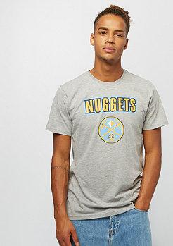 New Era NBA Team Logo Tee Denver Nuggets grey