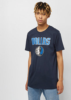 New Era NBA Team Logo Tee Dallas Mavericks blue