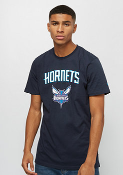 New Era NBA Team Logo Tee Charlotte Hornets blue