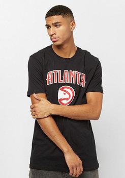 New Era Team Logo Tee NBA Atlanta Hawks black