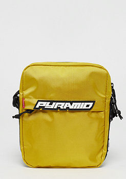 Black Pyramid Shoulder bag yellow