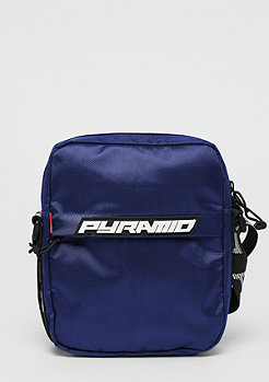 Black Pyramid Shoulder bag blue