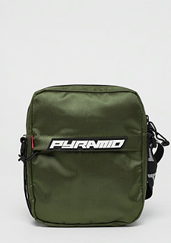 Black Pyramid Shoulder bag olive