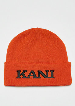Karl Kani KK x Starter College Beanie orange