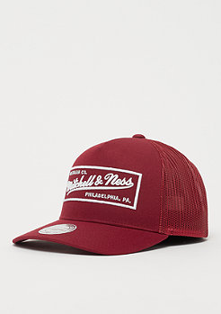 Mitchell & Ness Classic Trucker burgundy white