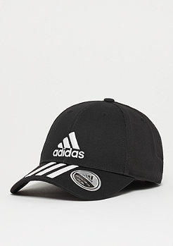 adidas 6P 3S Cap Cotto black/white/white