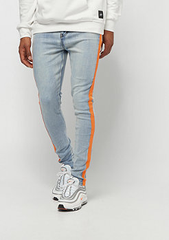 Sixth June Denim With Fluo Bands orange