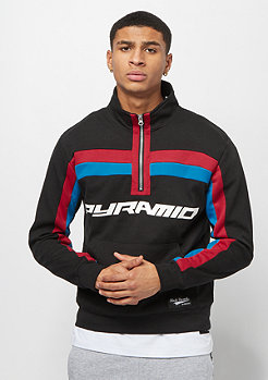 Black Pyramid 2 STRIPE TRACK JACKET black