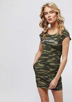 Sixth June Short Dress Parisiennes green camo