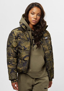 SNIPES Basic Puffer camo