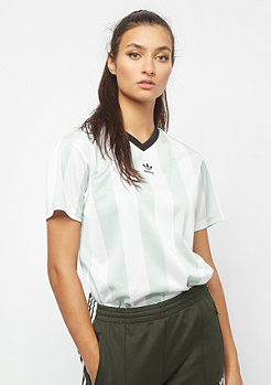 adidas T-Shirt white/ash green