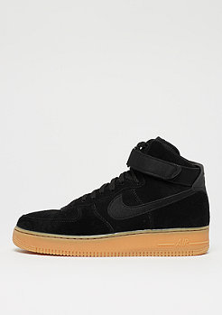 NIKE Air Force 1 07 LV8 black/black/gum med brown/ivory