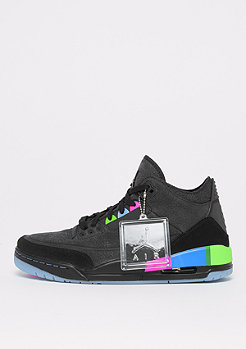 JORDAN Air Jordan 3 Retro SE Q54 black/black/green/infrared 23