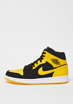 JORDAN Air Jordan 1 Mid black/varsity maize/white
