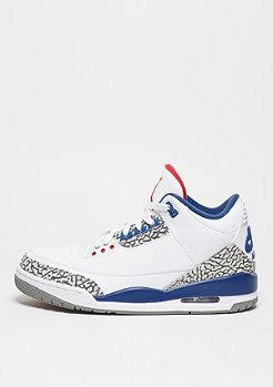 JORDAN Basketballschuh Air Jordan 3 Retro OG white/fire red/tr bl/cmnt gry