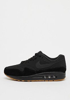 NIKE Air Max 1 black/black/black/gum med brown