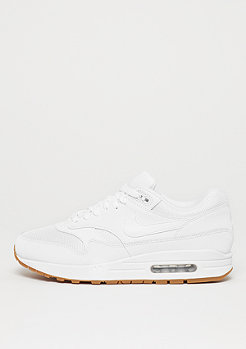 NIKE Air Max 1 white/white/white/gum med brown