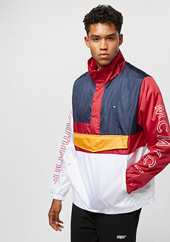 Southpole Color Block Anorak white