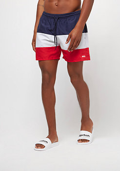 Fila FILA Urban Line Swimshorts Brock peacoat-hight risk red-brig