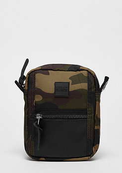 Urban Classics Small Crossbody Bag wood camo