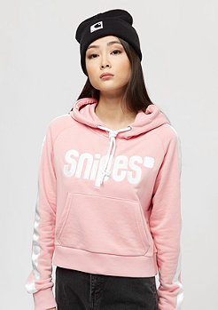 SNIPES Basic Logo Stripe silver pink/white