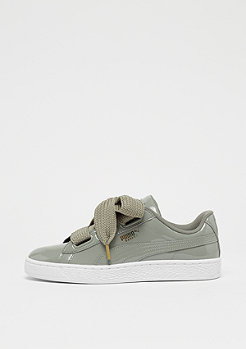 Puma Basket Heart Patent rock ridge-rock ridge