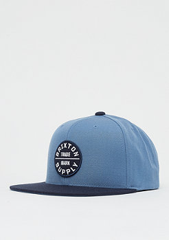 Brixton Oath III Snap grey blue/navy