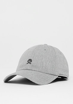 Cayler & Sons C&S PA Small Icon Curved Cap htr grey/black
