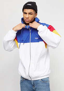 SNIPES Block Windrunner white/blue/red