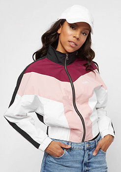 SNIPES Block 90s Blouson rhododendron/silver pink/white