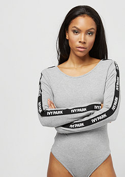 IVY PARK Tape Hi Leg Body Suit grey marl