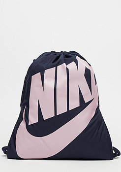 NIKE Heritage Gym obsidian/obsidian/particle rose