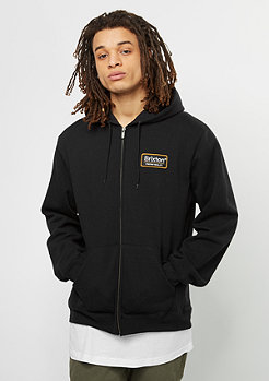 Hooded-Zipper Palmer Fleece black