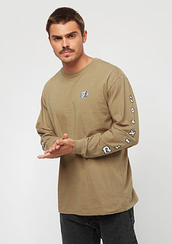 Brixton Primo LS Tee dusty olive
