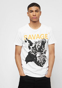 Criminal Damage CD Beast Tee white/multi