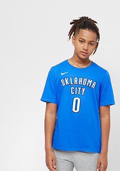 NIKE Oklahoma City Thunder Russell Westbrook blue