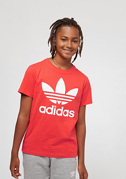 adidas J Trefoil bright red/white