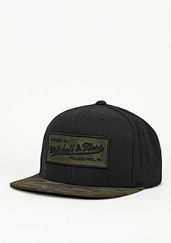 Mitchell & Ness Camo Fill black
