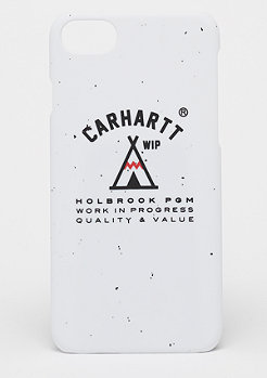 Carhartt WIP Holbrook iPhone Hardcase off white/black/red
