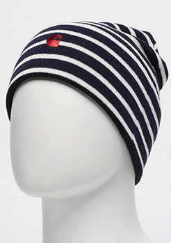 Carhartt WIP Robie Beanie Robie Stripe dark navy/snow/blast red