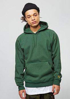 Hooded-Sweatshirt Chase fir/gold