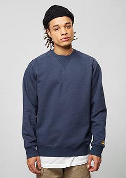 Sweatshirt Chase blue/gold